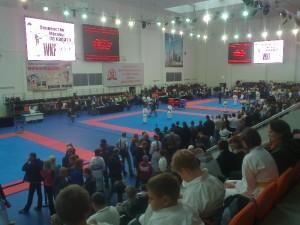 Начало Первенства Москвы по каратэ WKF