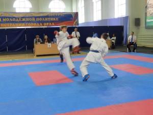 Поединки тульских каратистов на Кубке городов России 2013
