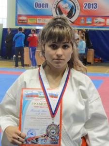 Никонова Ника - 2 место на Кубке городов России 2013