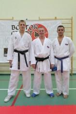 Спортсмены на семинаре по спортивному каратэ 2013 в Москве
