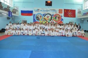 Соревнования по каратэ «Памяти павших, во имя живых» (общее фото, г.Тула)