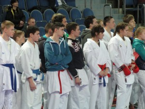 Команда Тулы на Чемпионате и первенстве ЦФО России по каратэ 2014 (г.Видное)