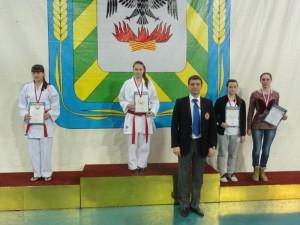 Кудрявцева Полина - Чемпион ЦФО России по каратэ 2014