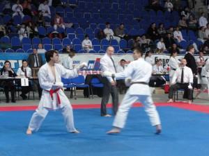 Призовой бой Илюшкина Евгения в открытом международном Турнире по каратэ JKS
