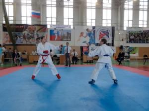 Бой Кудрявцевой Полины. Всероссийские соревнования по каратэ (WKF) «Кубок Дружбы» 2014 год