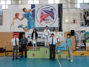 Награждение Тульских спортсменов. Всероссийские соревнования по каратэ (WKF) «Кубок Дружбы» 2014 год