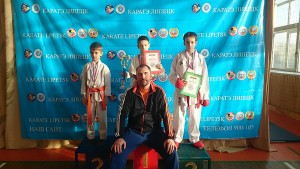Призеры липецкого открытого областного Первенства по каратэ  2014  года