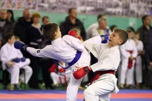 Один из лучших боев по каратэ в «Открытом Кубке Тульской области по каратэ»