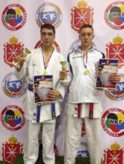 Евгений и Даниил - призеры Всероссийских соревнований по каратэ им.Двугрошева